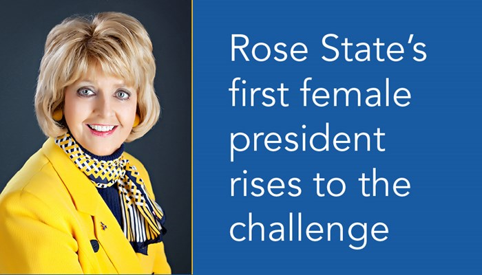 Rose State's First Female President Rises To Challenge