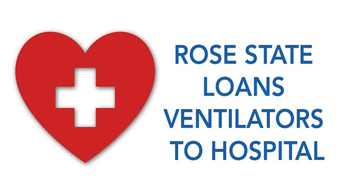 RSC Loans Ventilators to Hospital