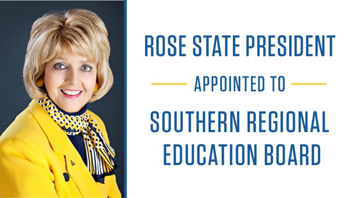 Rose State President Appointed To Southern Regional Education Board