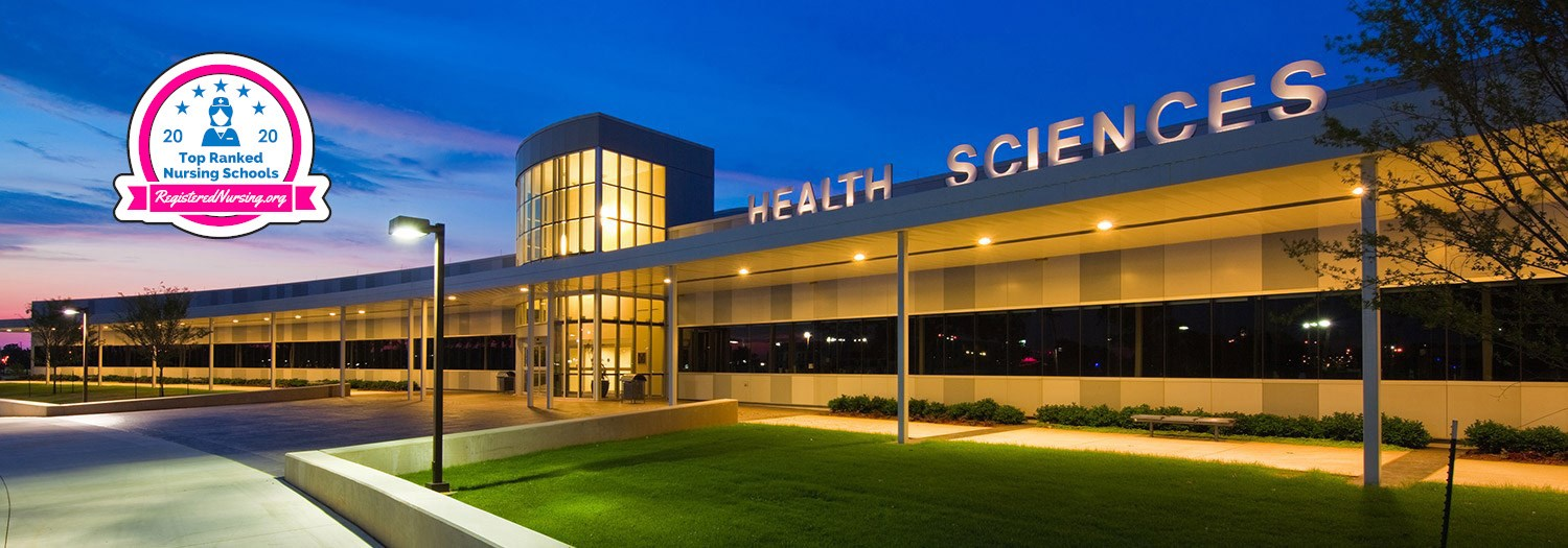 exterior view of the Health Sciences Center building