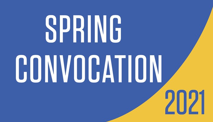 2021 Spring Convocation