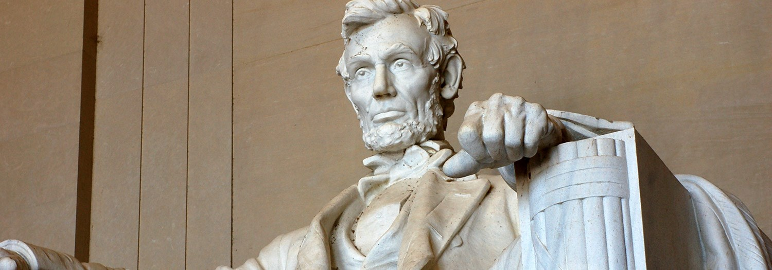 Abraham Lincoln Status in the Nation's capitol