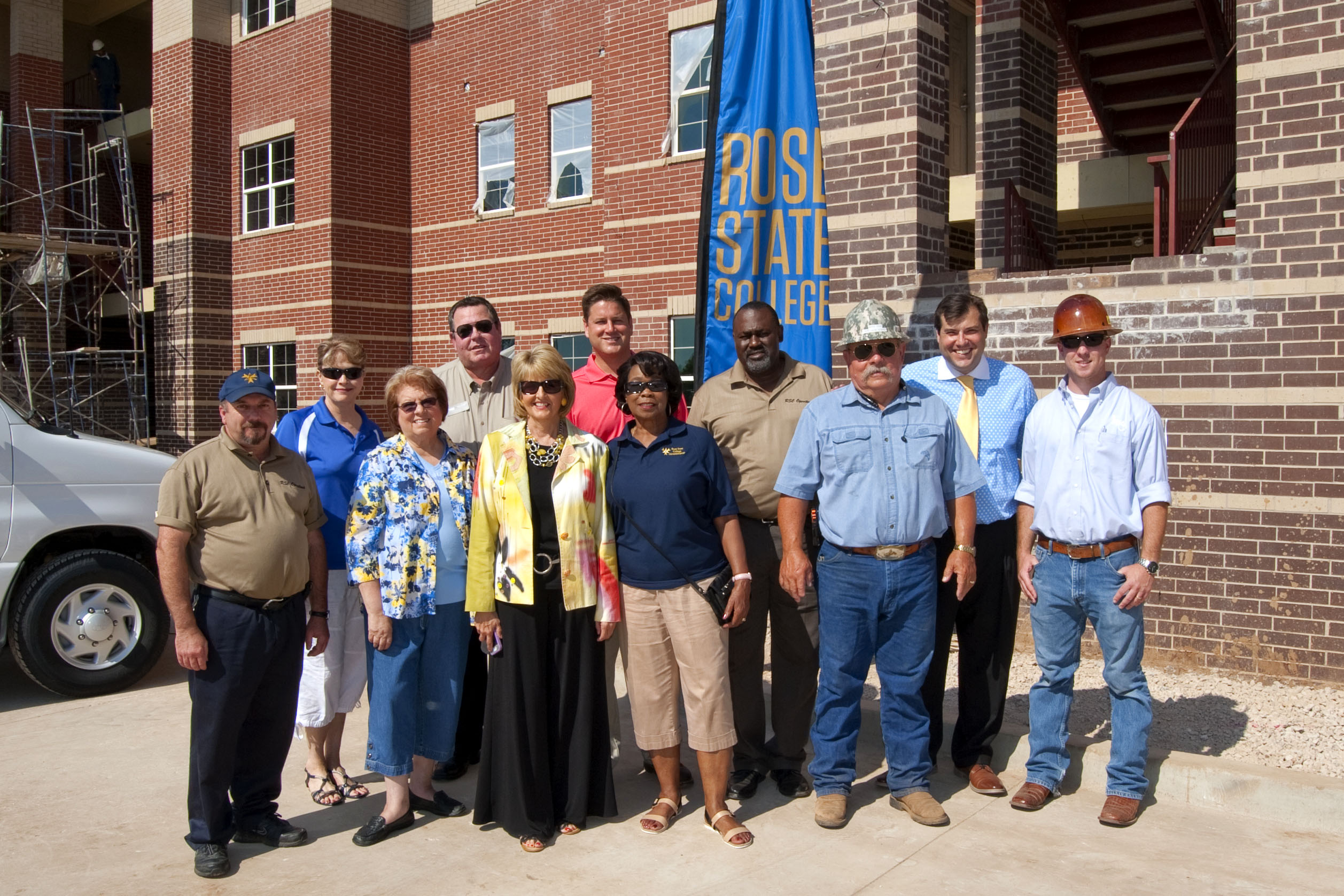 Regents and President Tour Student Housing