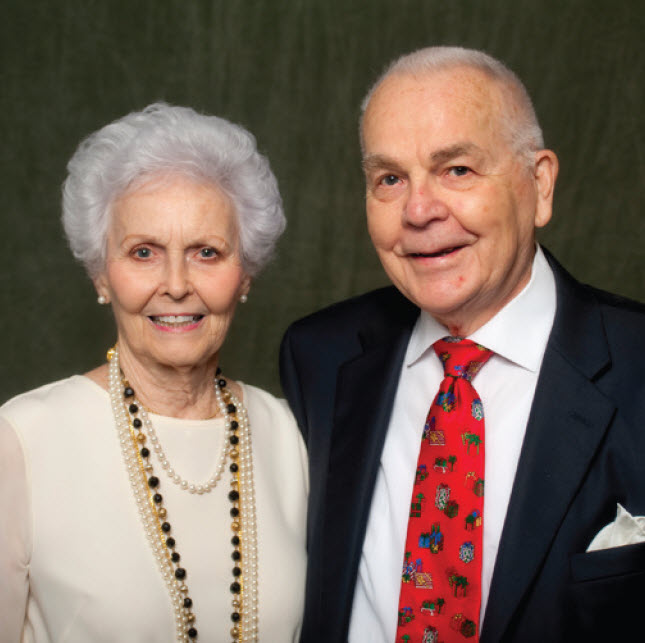 Dr. William G. Bernhardt and wife Theta Juan Bernhardt