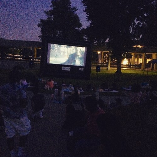 Movies outdoors