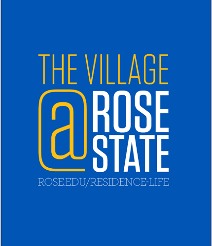 The Village @ Rose State sign