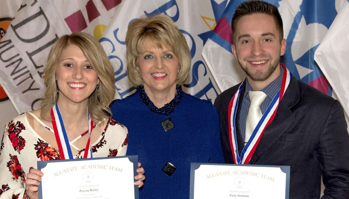 Rose State College Students Recognized As All-Academic Team