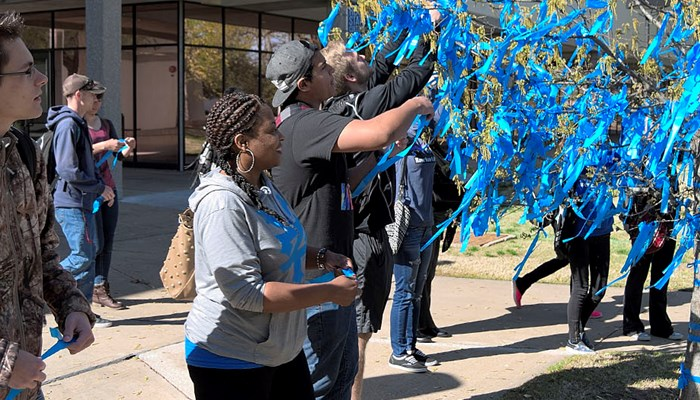 Rose State College Raises Awareness During Child Abuse Prevention Month