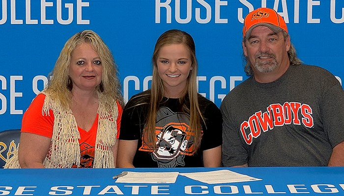 Mason Signs With OSU After A Strong Softball Career At Rose State College