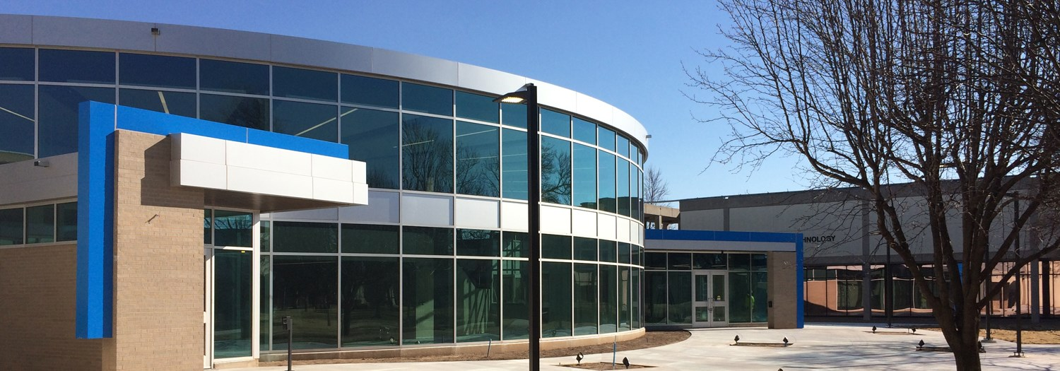 Exterior view of the new Learning Resources Center