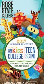 Kids College and Teen Scene Brochure Cover