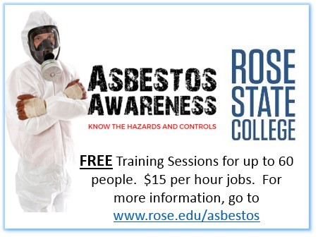 Asbestos Awareness Training Information