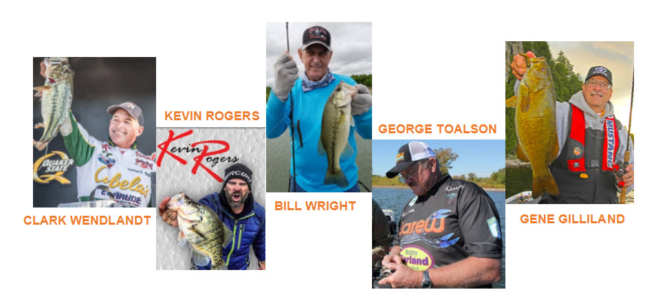 Speakers at the Bass and Crappie University
