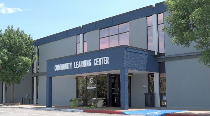Exterior Community Learning Center view