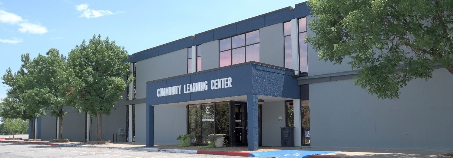 Exterior view of the Community Learning Center