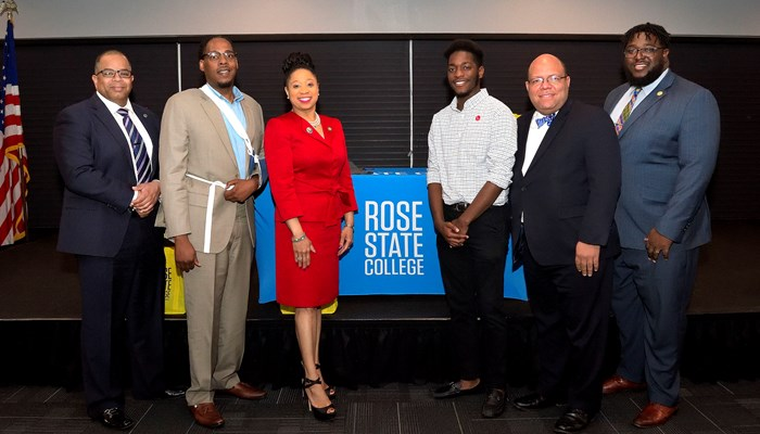 2017 Rose State Black Male Summit , speakers and organizers