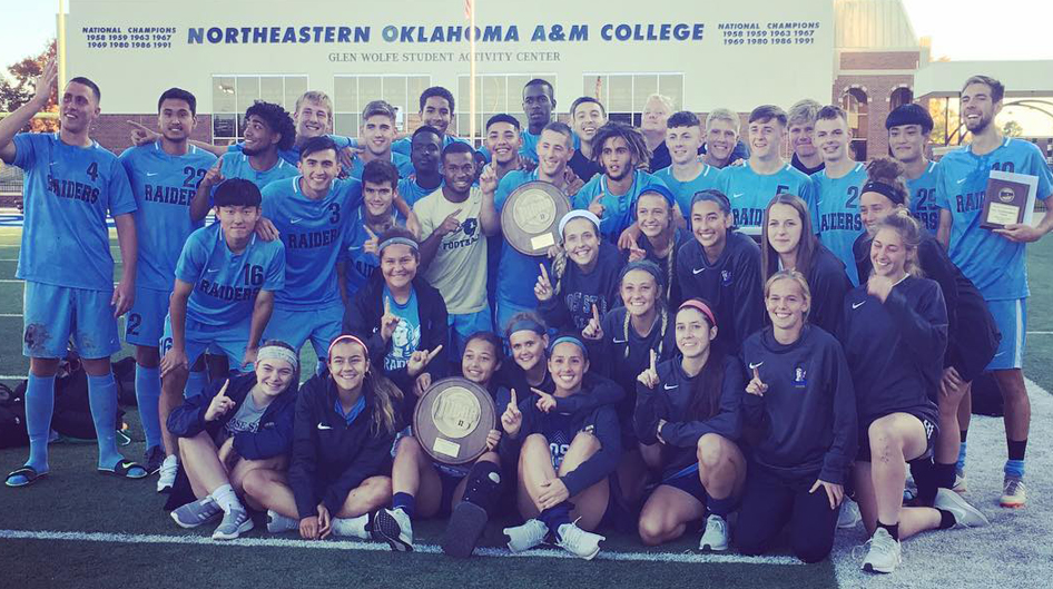Men and Women Soccer Champions