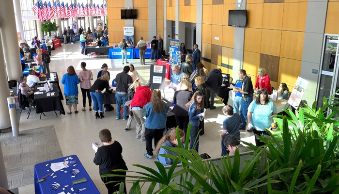 job fair at rose state