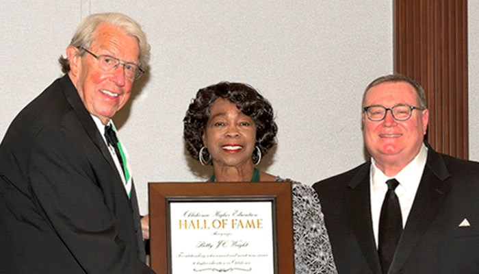 Rose State Regent Inducted Into The Oklahoma Higher Education Hall Of Fame