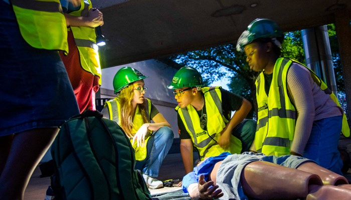 Rose State Gives Teens Emergency Response Training During Youth Preparedness Camp