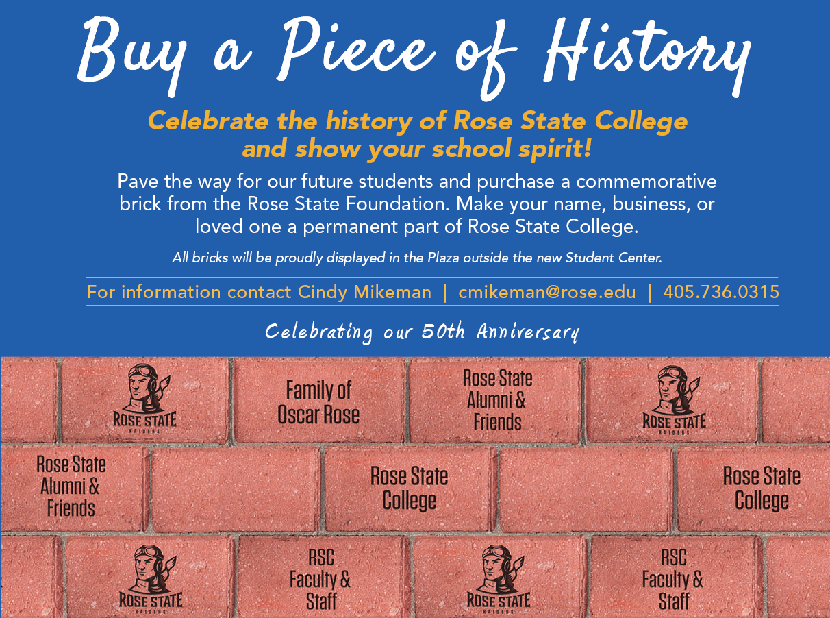 Buy a piece of history brick information